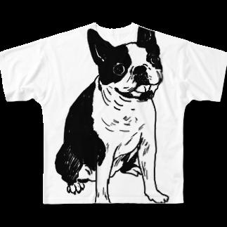 parkmansionのrin05wフルグラフィックTシャツ