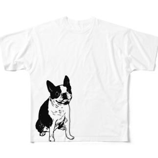 rin05w フルグラフィックTシャツ