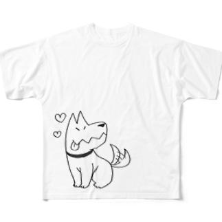 あべくんちのイヌ Full graphic T-shirts