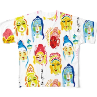 BUDDHA Full graphic T-shirts