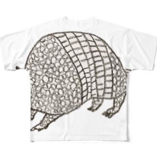 アルマジロ フルグラフィックTシャツ