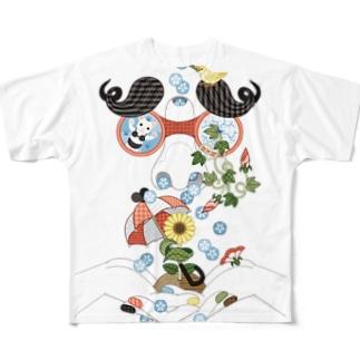 恵みの鼻水 フルグラフィックTシャツ