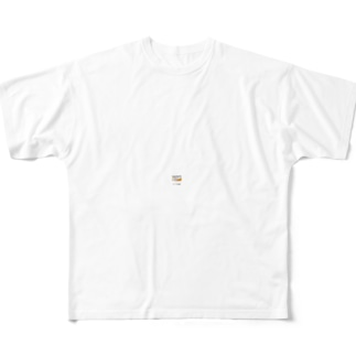 体は毎日の食事から作られます Full graphic T-shirts