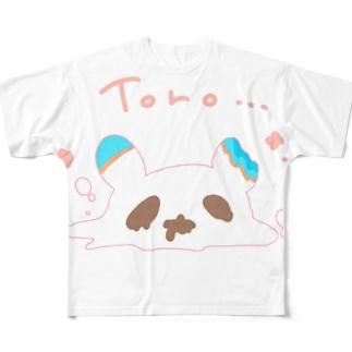 とろりん´sのミミちゃん Full graphic T-shirts