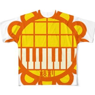 パ紋No.2988 枝利 Full graphic T-shirts