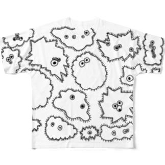 微生物 Full graphic T-shirts