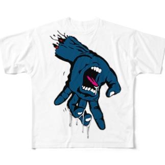 あのデザインのパロディ Full graphic T-shirts