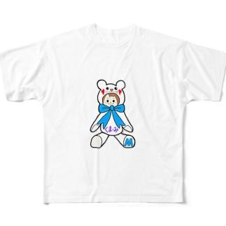 くまーみシリーズ Full graphic T-shirts