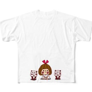 よろしくリボンちゃん フルグラフィックTシャツ