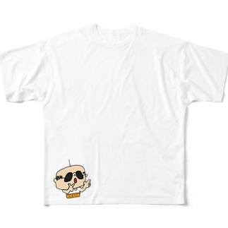 ヒューヒューだよ フルグラフィックTシャツ
