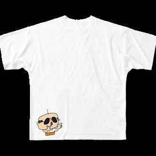 かょのこ♪のヒューヒューだよフルグラフィックTシャツ