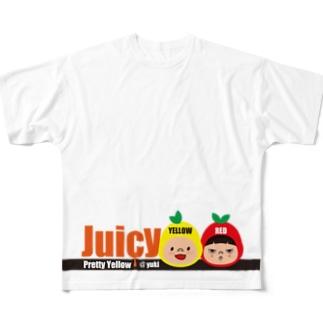 じゅーしーT 下 フルグラフィックTシャツ