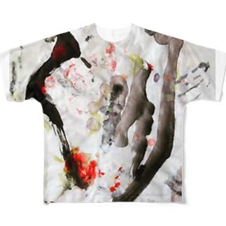 極東Asia大龍小龍包 Full graphic T-shirts