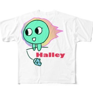 Popハレーともよ フルグラフィックTシャツ