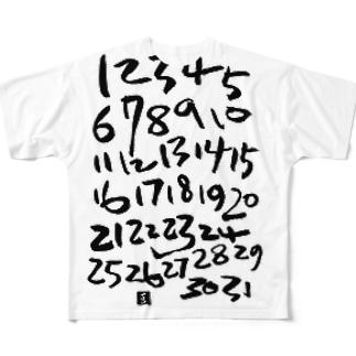 your calendar フルグラフィックTシャツ