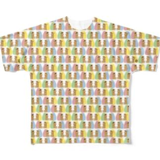 はぐれねずみ Full graphic T-shirts
