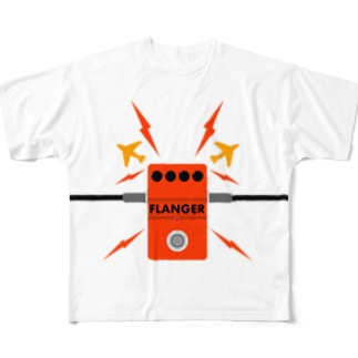 FLANGER Full graphic T-shirts