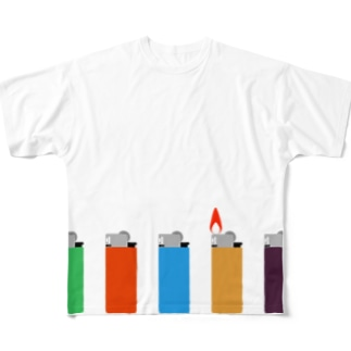 LIGHTERS Full graphic T-shirts