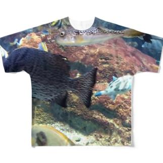 スイスイスーイ フルグラフィックTシャツ