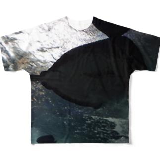 大きな影 フルグラフィックTシャツ