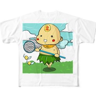 ポイン@ハイパーニート フルグラフィックTシャツ