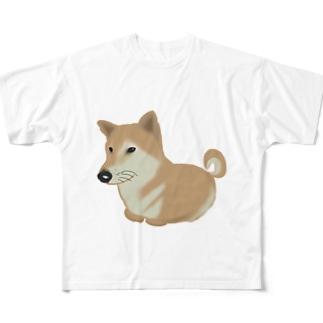 犬 Full graphic T-shirts