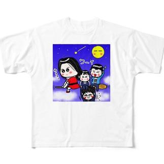 BK 魔法使いさん フルグラフィックTシャツ