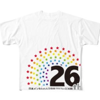 メンタル26期アイテム フルグラフィックTシャツ