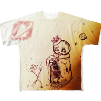 PlutoPrince Full graphic T-shirts