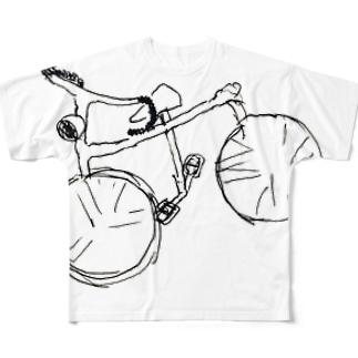 パーツはあるが、構造が欠落している フルグラフィックTシャツ