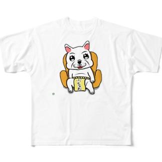 BK ぶちゃお フルグラフィックTシャツ
