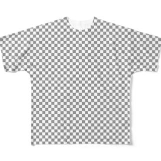 透明レイヤー Full graphic T-shirts