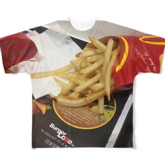 国民的芋T フルグラフィックTシャツ