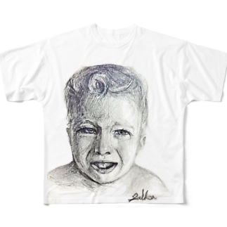 Baby,cry baby Full graphic T-shirts