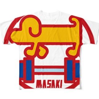 パ紋No.3004 MASAKI  Full graphic T-shirts