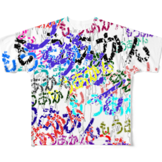 なぞQのもうあかん フルグラフィックTシャツ