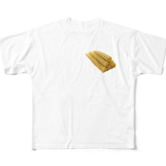 ヤングコーン Full graphic T-shirts