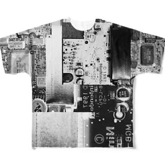 基盤 Full graphic T-shirts