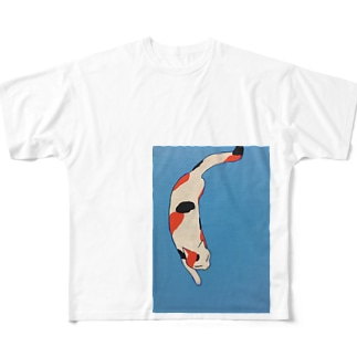 ニシキネコ Full graphic T-shirts