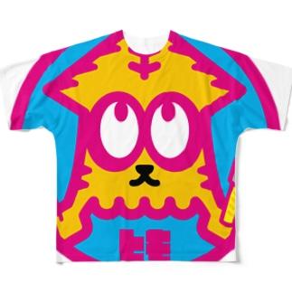 パ紋No.3030 とも Full graphic T-shirts