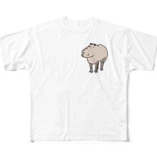 カピ氏 Full graphic T-shirts