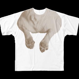 裏ひぐちのもー君おけちゅマイルド Full graphic T-shirts