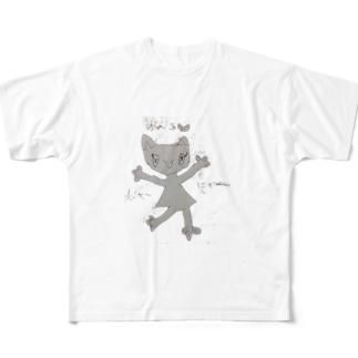にゃみ Full graphic T-shirts