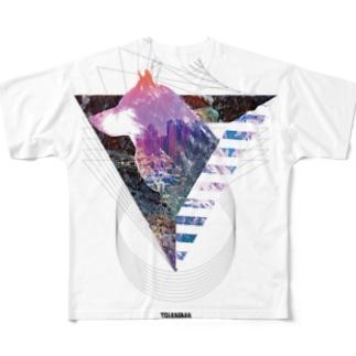 TRI ANIMA【Wolf 01】  Full graphic T-shirts