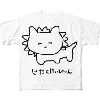 真顔戦士 Full graphic T-shirts