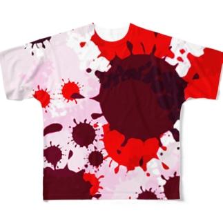 血糊 Full graphic T-shirts
