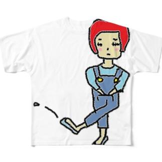 ひまこ Full graphic T-shirts