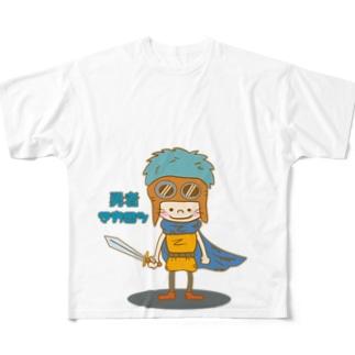 勇者マカロン フルグラフィックTシャツ