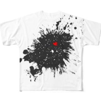 LIBRI PAINT WORK 021 フルグラフィックTシャツ