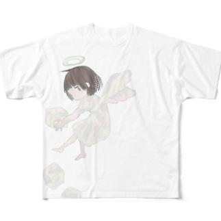 つまみぐい Full graphic T-shirts